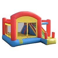 Costway Kids Inflatable Bouncy Castle Play Fun House Moonwalk Bouncer Jumper Garden