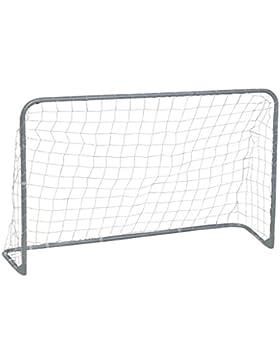 Garlando Porta da Calcio Foldy Goal Cm 180X120 Con Struttura Pieghevole Argento