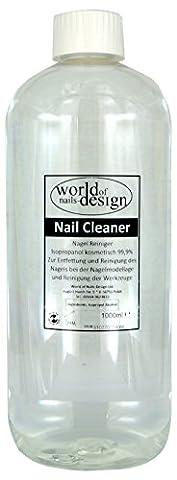 World of Nails-Design Nail Cleaner 99,9% isopropanol kosmetisch, pack de