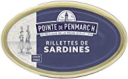 Rillettes de sardines Pointe de Penmarc'h le lot de 6 boîtes de 115 g - Livraison en 2 à 3 jours ouvrés de