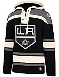 47 Brand NHL Los Angeles Kings Lacer Hoody Jersey Trikot Kapuzenpullover Forty  Seven 83f3c54e4a63