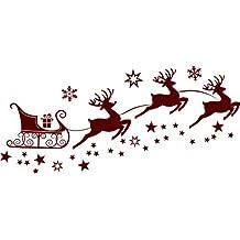 suchergebnis auf f r weihnachtsdeko schlitten mit rentier. Black Bedroom Furniture Sets. Home Design Ideas