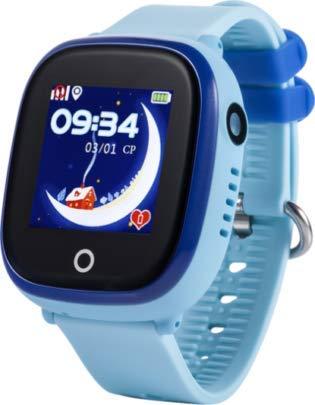 JBC GPS-Telefon Uhr-Modell 2019-Großer Pirat-Wasserdicht mit Kamera und WiFi OHNE Abhörfunktion,SOS Notruf+Telefonfunktion,Live GPS+WiFi+LBS Positionierung,weltweit, Anleitung+App+Support(blau) Großes Armband