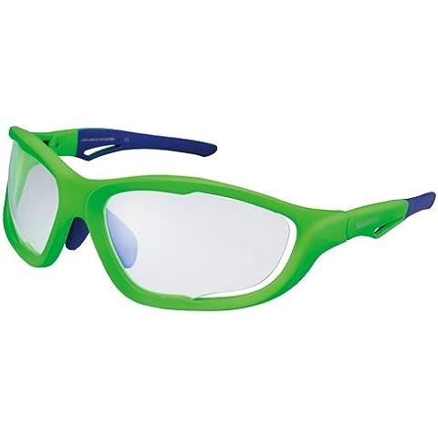 Shimano ECES60XPHQGB - Gafa Sh S60x Ph Verde Neon/azul1l V15