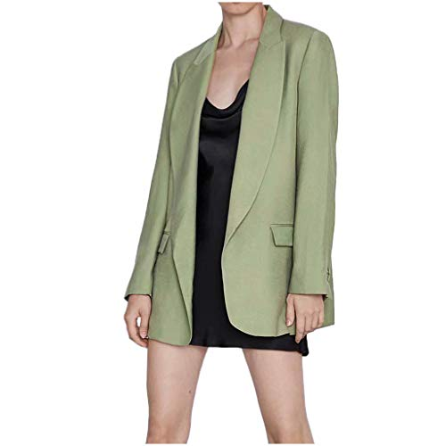 Green Lantern Outfits - Writtian Damen Herbst und Winter Blazer