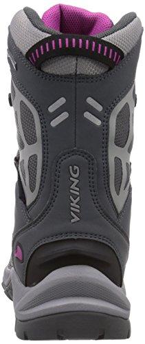 Viking Mammoth II GTX Unisex-Erwachsene Outdoor Fitnessschuhe Grau (Grey/Fuchsia 317)
