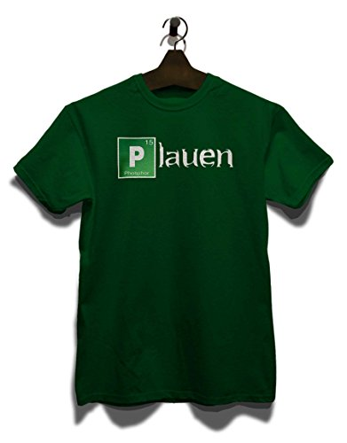Plauen T-Shirt Dunkel Grün