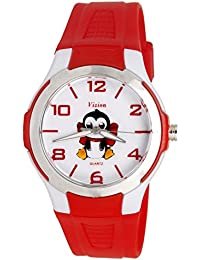 Vizion Analog Multi-Colour Dial (JUNIOR-The Penguin of Madagascar) Cartoon Character Watch for Kids-V-8826-4-2