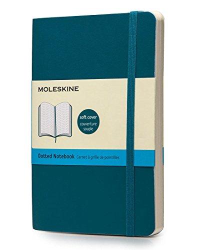 Moleskine Taccuino Dotted Notebook, Tascabile, Blu Oltremare