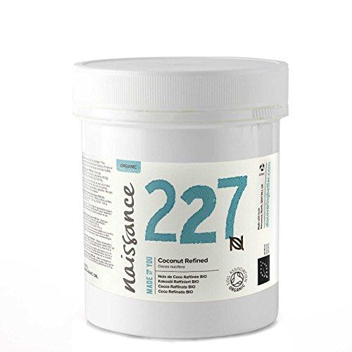 Naissance Coco Refinado BIO Sólido - Aceite Vegetal Prensado en Frío 100% Puro - Certificado Ecológico - 100g