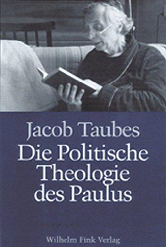 Die politische Theologie des Paulus: Vorträge, gehalten an der Forschungsstätte der evangelischen Studiengemeinschaft in Heidelberg, 23.-27. Februar 1987