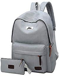 Mochilas Escolar Niña Niños, Ligera Colegio Portátil Computadora Mochila Mujer y Hombre Backpack Viajes Caminatas