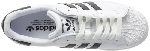 adidas Originals Superstar II Unisex-Erwachsene Sneakers, Weiß (White/Black/White), 44 EU -