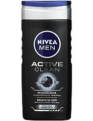 Nivea Men Pflegedusche Active Clean, Duschgel, 250 ml