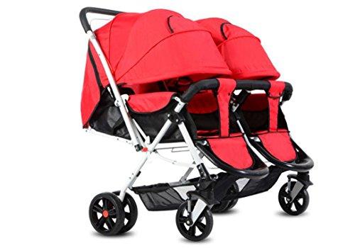 voitures-twins-bb-pliable-anti-choc-high-view-elastic-commodit-poussette-pivotement-roues-couverture