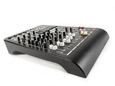 RCF L-PAD 8CX Table de mixage 8 canaux avec effets