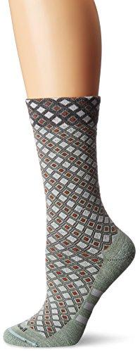 Sockwell Damen The Avenue Stripe Crew Socken, damen, Seladongrün -