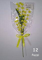 Idea Regalo - 12 RAMETTI DI MIMOSA Festa della Donna