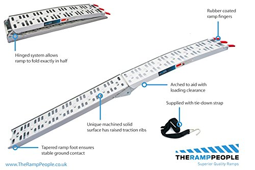 Price comparison product image Motorcycle Ramp TRP623 Single