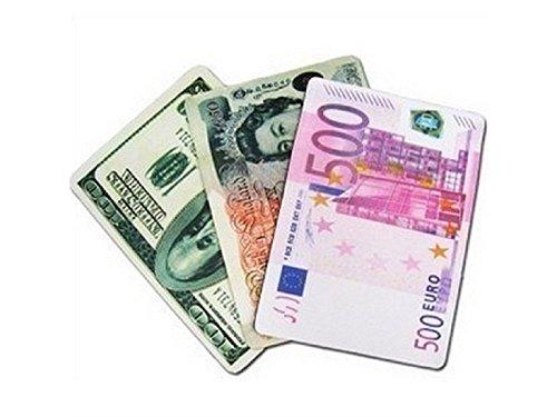 kxrzu Durevole Mouse pad valuta euro sterlina euro (colore casuale)