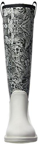 Desigual Pasley Rain Boot, Stivali di Gomma Donna Bianco