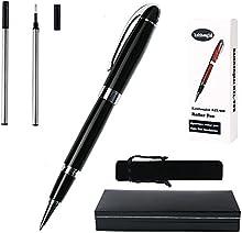 kzl908Gel bolígrafo con caja de regalo dos ink. barril rojo diseño clásico (0.7mm cartucho de tinta negro # xFF09;