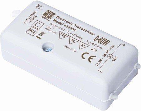BLV Licht&Vakuum Elektronischer Trafo 45600101 230/12V dimmbar Trafo für NV-Lichtsystem/NV-Halogenlampe 4041061073561 - Licht-vakuum