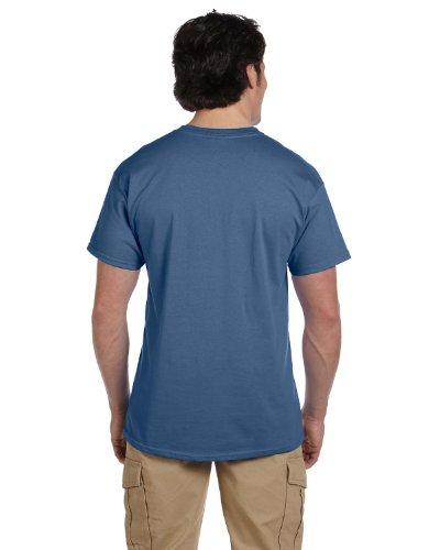 Tausendf٤ler auf American Apparel Fine Jersey Shirt Navy Blau