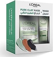 L'Oreal Paris Pure Clay Green Mask & Wash - Purifying