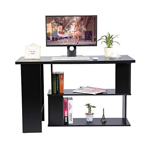 Escritorio para ordenador en forma de L, oficina informática en ...