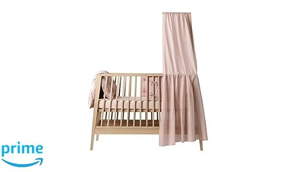Leander linea himmel für babybett höhe: 170 cm in rosa soft pink
