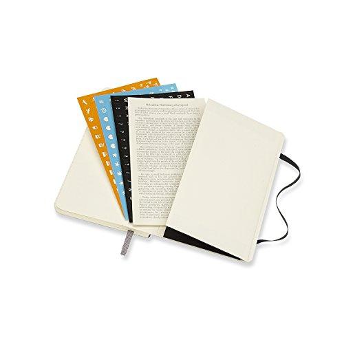 Weekly Calendar Notebook : Moleskine notebook black pocket weekly month diary