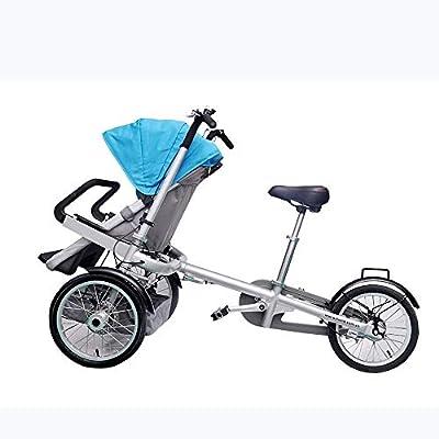 Bicicleta de Cochecito de bebé, fácil de Salir, fácil de Plegar Almacenamiento