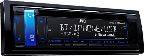 JVC KD-R881BT USB/CD-Receiver mit Bluetooth inklusiv A2DP schwarz