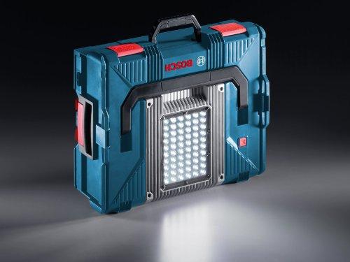Bosch Professional Akku-Lampe GLI PortaLED 136, 60 LEDs, 150 min Betriebszeit mit einer Akkuladung, 1 Stück, 0601446100 - 4