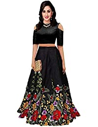 c348378e63 skyworld fashion Women s bangalori satin Long Skirt Gown And Top new 2019