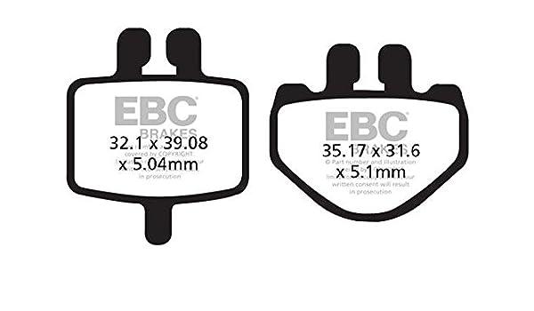 EBC Bremsbeläge FA485TT Hinterachse HAMMERHEAD BUGGIES Mini 08-09 45cc