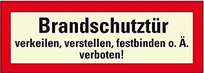 LEMAX® PERMALIGHT plus Feuerwehrschild Brandschutztür...,Folie,selbstklebend,297x105mm