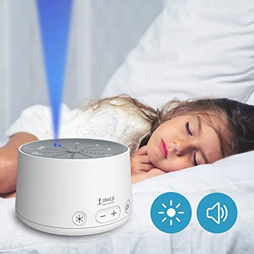 Einschlafhilfe für Kinder und Erwachsene (Licht-Metronom, Naturklänge oder weißes Rauschen zum schnelleren Einschlafen, mit Timer) weiß - zum, weißes, weiß, und, Timer, snuutje, schnelleren, Rauschen, oder, Naturklänge, mit, LichtMetronom, Kinder, für, Erwachsene, einschlafhilfen für kinder, einschlafhilfe, Einschlafen