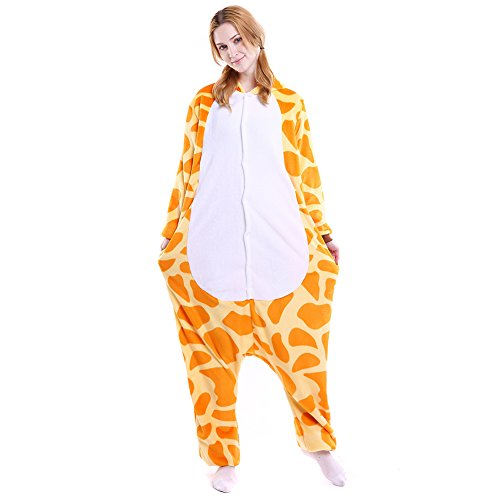 Free Fisher-Kigurumi Pigiama Adulto Anime Cosplay Halloween Costume Attrezzatura Giraffa