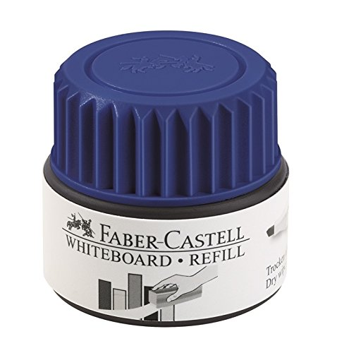 Faber-Castell 158421 – Recambio para marcador de pizarra blanca GRIP, color azul