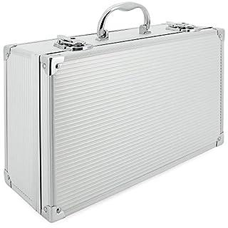 AR Carry Box® Alubox Alukoffer Aluminium Koffer Werkzeugkoffer leer 353x202x115mm Alu/Silber