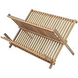 Ambiance Nature 507098 Egouttoir Vaisselles 32 Couverts Bambou