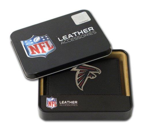 NFL bestickt Trifold Wallet, unisex Herren, RTR2001, Atlanta Falcons, einheitsgröße