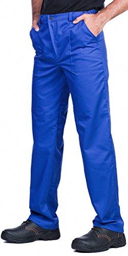 Herren Arbeitshose, Bundhose,Blau,Größen S-3XL,gute Verhältnisse zwischen Preis und Qualität (Bein Strauß Herren)