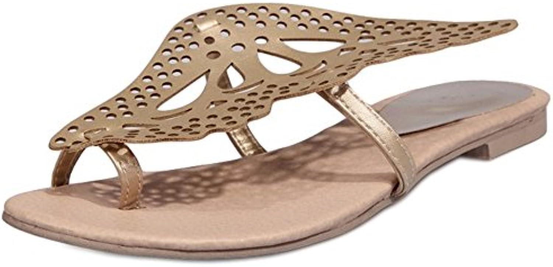Coolcept Mujer Verano Chanclas Sandalias  Zapatos de moda en línea Obtenga el mejor descuento de venta caliente-Descuento más grande