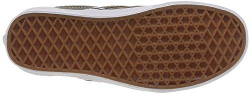 Vans U Classic Slip-on, Baskets mode mixte adulte Noir (Black/Desert Palm)