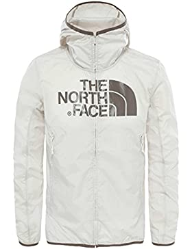 North Face Drew Peak Windwall Chaqueta, Hombre, Blanco, M