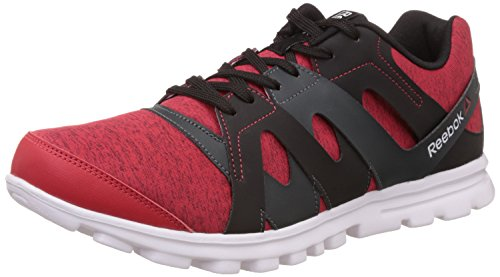 Reebok Men's Electro Run Red, Black and White Running Shoes – 10 UK/India (44.5 EU) (11 US) 41mnpsjLXiL