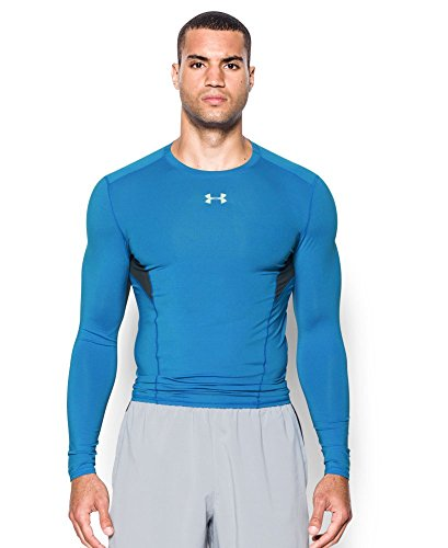 Under Armour UA HG CoolSwitch Comp Ls T-Shirt langarm, Herren, Herren, UA HG COOLSWITCH COMP LS, Blau (Brilliant Blue)